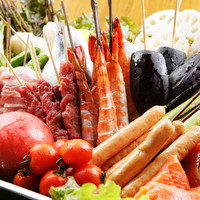 新世界 串や - 定番串、季節串、バラエティ串…全50種類!一度は食べてみて欲しい、バームクーヘン串も。