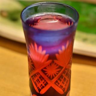川京 - ドリンク写真:自家製しそジュース