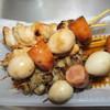 鳥八 - 料理写真:うずらウインナ¥100