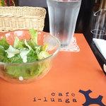 14618729 - サラダ ロゴが可愛いですね!2012.08.15