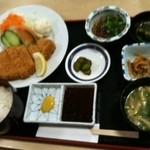 ちらん亭 - チャーミー豚のロース定食1