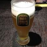 旬膳処 茶目 - 御殿場高原ビール(ピルス)