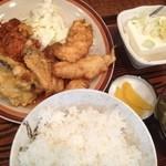 お食事処 三福 - ある日のまるじゅう(日替り定食)