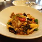 銀座小はれ日より - カルビといろいろ野菜の炒め物
