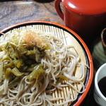 常念 - ワサビ蕎麦