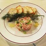 バワリー・キッチン - ズワイガニと帆立の冷菜