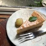 手ぬぐいカフェ 一花屋 - チーズケーキ