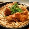 じゅげむ鉄板焼 - 料理写真:鶏モモ肉ともやしのタレ焼き。食べ応え十分!
