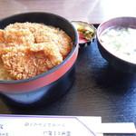 藤屋食堂 - ソーツカツ丼