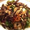 グローブ デュ モンド - 料理写真:砂肝のコンフィと海老のサラダ仕立て