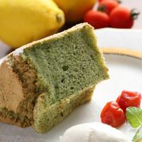 季節の野菜のシフォンケーキ