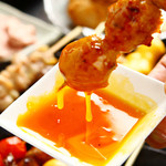 慶鳥 - 料理写真:当店自慢「特製つくね」 お客様の8割がご注文する人気商品です♪