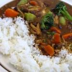 ハイビスカス - 野菜カレー