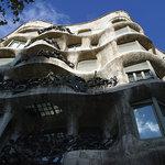1472192 - オマケ:バルセロナ「カサ・ミラ」のバルコニー欄干②