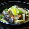 かわら屋 - 料理写真:富岡市の郷土料理 『 こしね汁 』 です。 地元野菜・契約味噌にこだわりが!