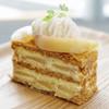 デコラシオン - 料理写真:桃のミルフィーユ