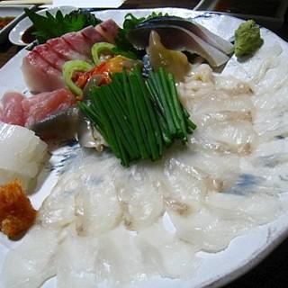 ふく田 - 料理写真:お刺身盛り合わせ