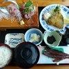 真鶴 魚座 - 料理写真:アジセット¥1600
