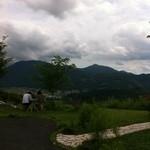 檪の丘 - 天気は悪いけど眺めはきれい
