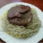 タベルナ・ラ・グロッタ - 牛肉薄切りステーキ900円!