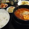 百済カルビ - 料理写真:純豆腐チゲランチ 500円