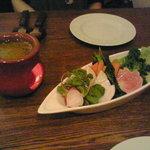 1475762 - 朝摘み三崎野菜のバーニャカウダ