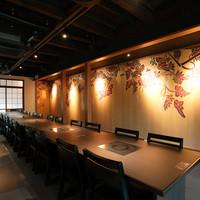 京都御所の東側、室町通に面する京町家を改装したお店です。