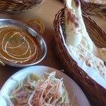 インドレストラン ナンハウス - チキンカレーランチ