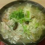 さかい軒 - ゆずたん麺700円