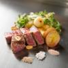 鉄板焼 一如 - 料理写真:黒毛和牛リブロースのステーキ