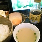 とり辰 - 伊逹鶏の卵を使ったTKG