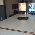 おもろきむちや - 広いテーブルです
