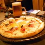 酔処 楽風 - きまぐれピザ 780円