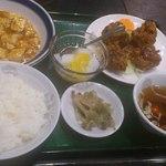 中国料理 萬里 - ランチセットです。