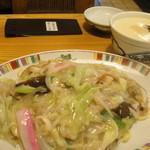 銀座 吉宗 - 皿うどんセット