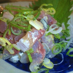 食彩や魚太郎 - アジのたたき