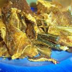 食彩や魚太郎 - アジの骨せんべい