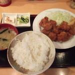 ふじ亭 - 鳥ザンギ定食(630円)