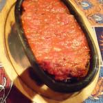 オリエント ターキッシュ - トマトと羊のムサカ。