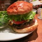 ブルックリンパーラー - マッシュルーム & モッツァレラチーズ バーガー