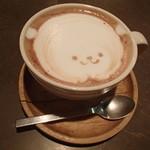 アナログ カフェ ラウンジ トーキョー - カフェモカ