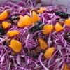 リストランテ・クレス - 料理写真:紫キャベツのオレンジサラダ