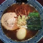 麺屋永吉 花鳥風月 - 以前(移転前)食べた味玉らーめん