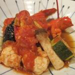 舞桜 - オマール海老と野菜のトマト煮