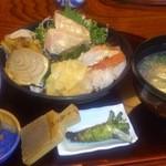 14859737 - とろ炙り三昧丼定食