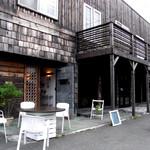 虹のカフェ 小箱 - ショップファサード