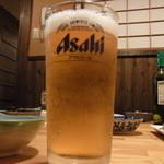 網玄 - 乾杯ビール♪