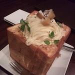 カラオケ パセラ - モンブランのハニトー。