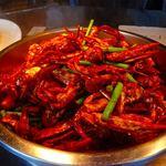 シンガポール・シーフード・リパブリック - 渡り蟹のチリソース炒め