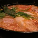 鼎 - 肉豆腐 醤油味のアップ